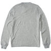 Ottoman Stripe Crew - Gray Heather Oatmeal Heather