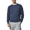 Shore Club Cotton Crew Sweater - Navy Heather