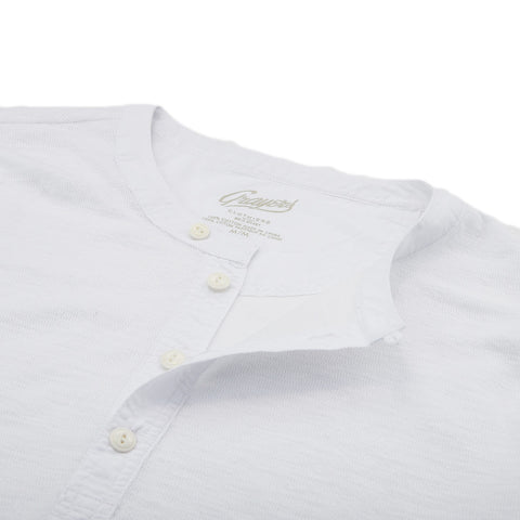 Thermal Double Cloth Henley - Optic White / Optic White