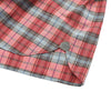 Orleigh Summer Weight Poplin Shirt Sleeve Shirt - Red Blue Plaid
