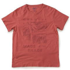 Delray Short Sleeve Printed Tee - Made in the Shade / Mineral Red-Grayers