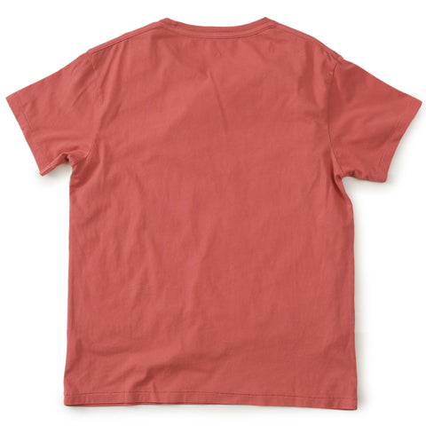 Delray Short Sleeve Printed Tee - Made in the Shade / Mineral Red