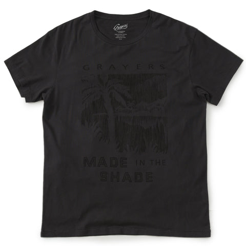 Delray Short Sleeve Printed Tee - Made in The Shade / Iron Gate