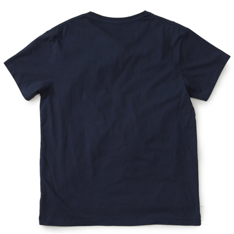 Delray Short Sleeve Printed Tee - Charleston / Mood Indigo
