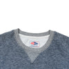 Athletic Brushed French Terry Crew - Navy Indigo Heather