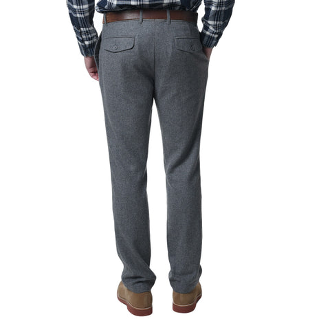 Clayton Wool Flannel - Charcoal Gray