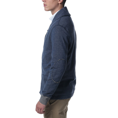 Birch Shawl Cardigan - Denim Blue