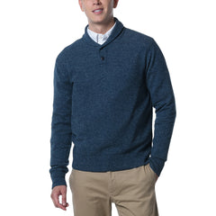 Andover Wool Linen Shawl Collar - Pine-Grayers