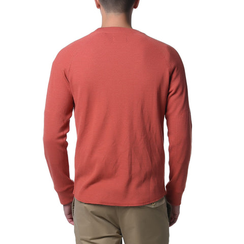 Athletic Thermal Crew - Orange Heather