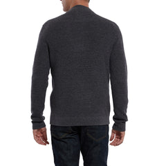 Wadsworth Bib Sweater Henley - Charcoal