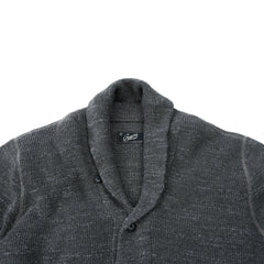 Cabana Shawl Cardigan - Lt Charcoal-Grayers