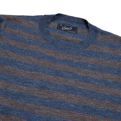 Worthington Rep Stripe Crew - Denim Sable-Grayers