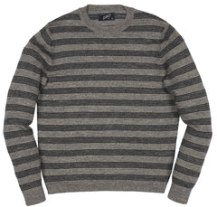 Worthington Rep Stripe Crew - Gray Charcoal-Grayers