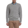 Bleecker Textured V Neck - Gray Heather-Grayers
