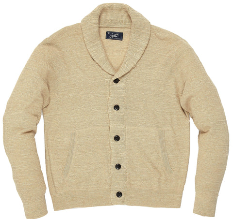 Cabana Shawl Cardigan - Oatmeal Heather-Grayers