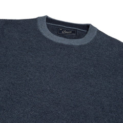 Arandel Birdseye Crew - Denim-Grayers