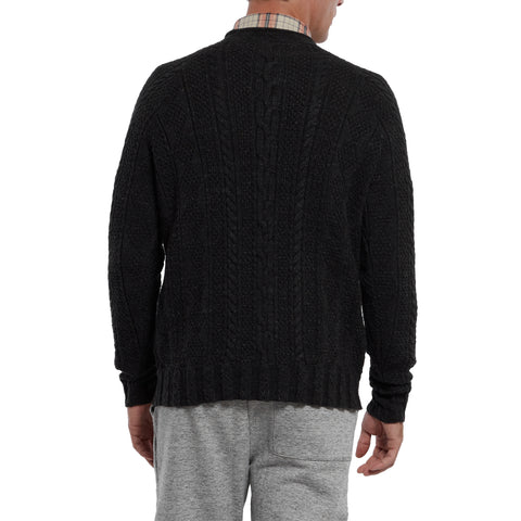 New Albert Roll Neck - Charcoal-Grayers