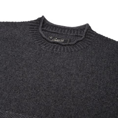 Aspen Cashmere Roll Neck - Charcoal-Grayers
