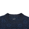 Snowflake Crew Neck - Navy Heather
