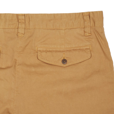 "Bermuda Stretch Cotton Linen Shorts 9"" - Indian Tan-Grayers"