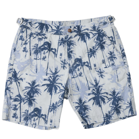 "Praia Swim Short 8"" - Digital Palm"
