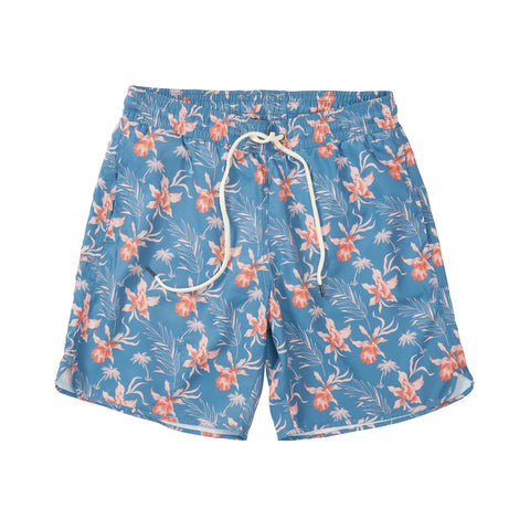 "Newport Canvas Stretch Shorts  9"" - Peach"