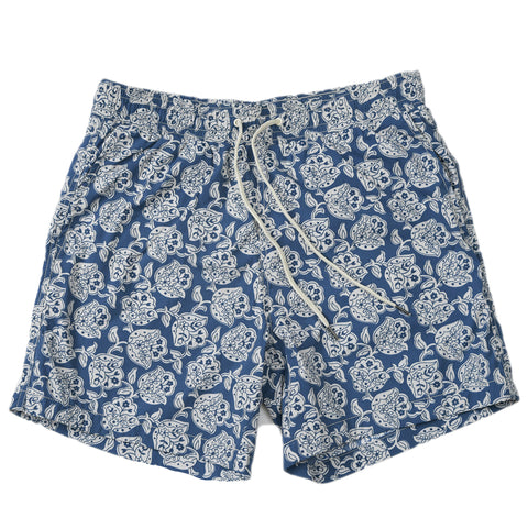 "Praia Swim Short 8"" - Rough Plaid"