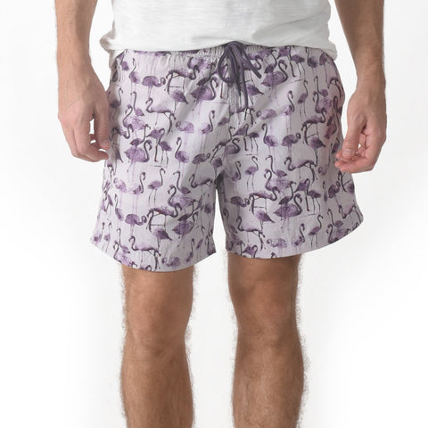 "Moorea Swim Trunk 6"" - Flamingo Purple"