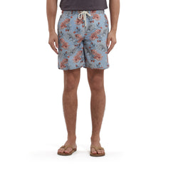 Blue Tropic Swim Trunk 8