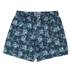 Carbon Blue Leaf Swim Trunk 6