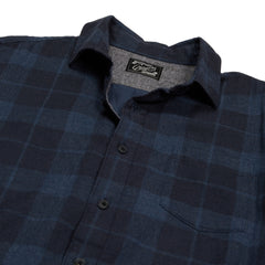 Helsby Double Cloth - Charcoal Navy Heather