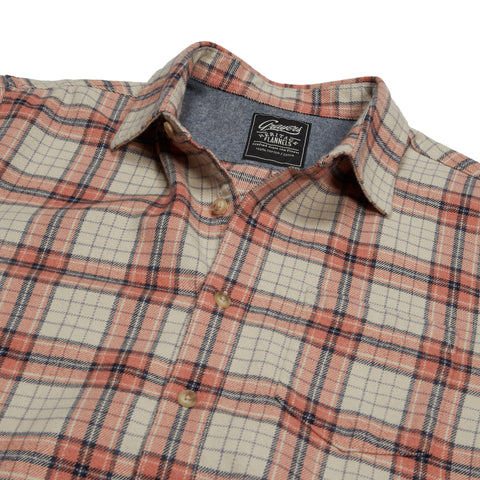 Eden Heritage Flannel - Salmon Orange Plaid-Grayers