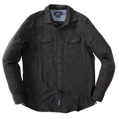 Brigadoon Lightweight Flannel Shirt - Charcoal Heather