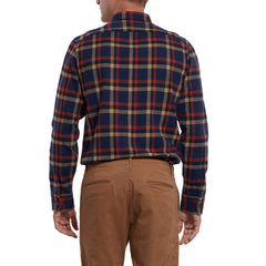 Eugene Heritage Flannel - Navy plaid-Grayers