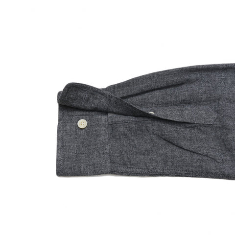 Davies Double Cloth - Charcoal Jaspe