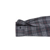 Duchamp Double Cloth Herringbone - Charcoal Red Windowpane