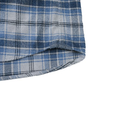 Campton Heritage Flannel - Blue Stone-Grayers