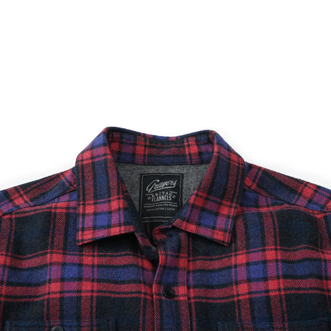 Chaucer Heritage Flannel - Charcoal Red-Grayers