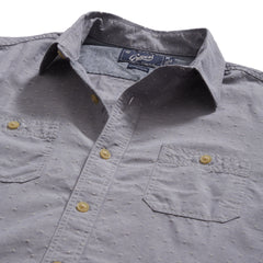 Hillwood Chambray Dobby Work Shirt - Blue Dobby