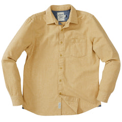 Wendover Jaspe Heritage Flannel Shirt - Antelope