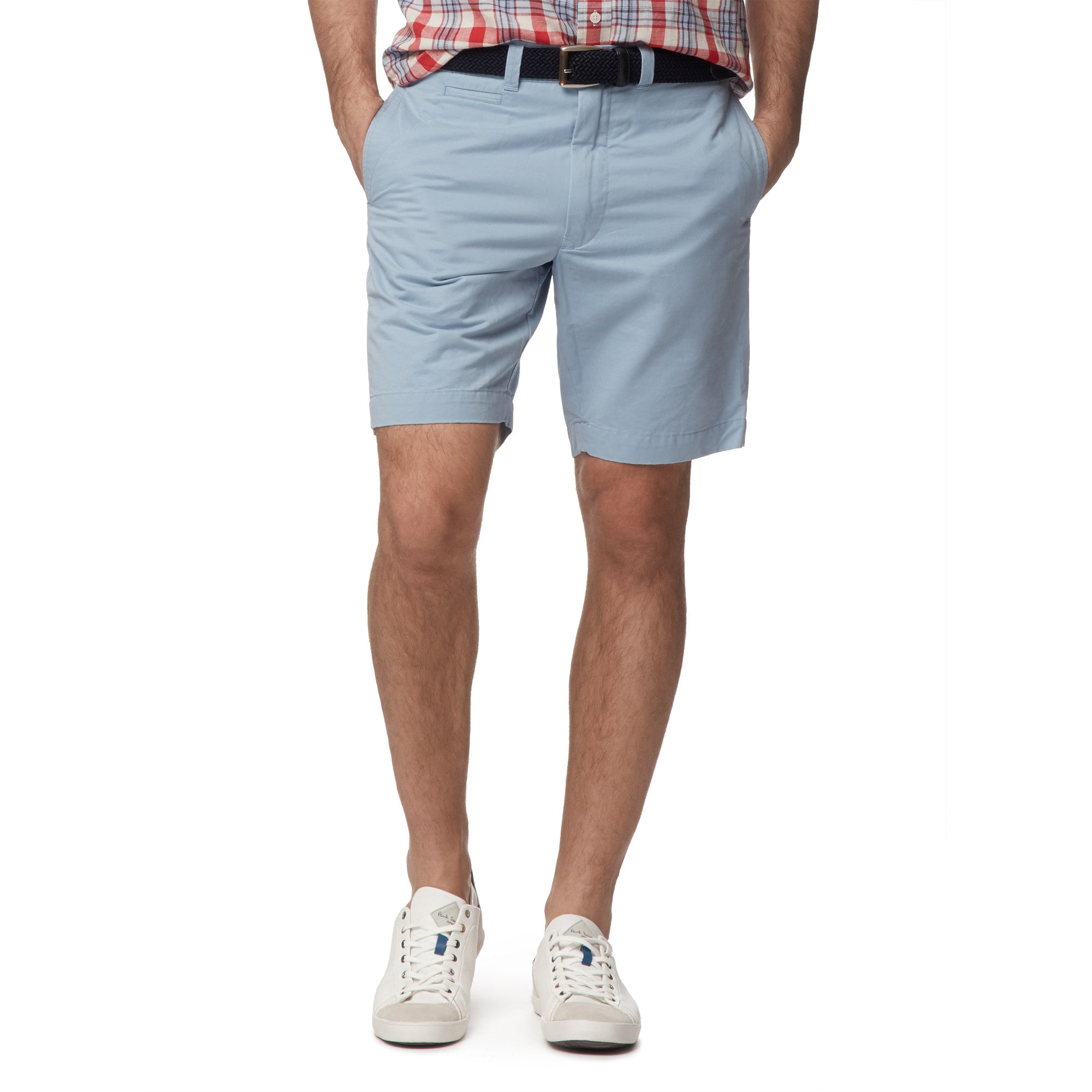 "9"" Newport Club Short - Sky Blue"