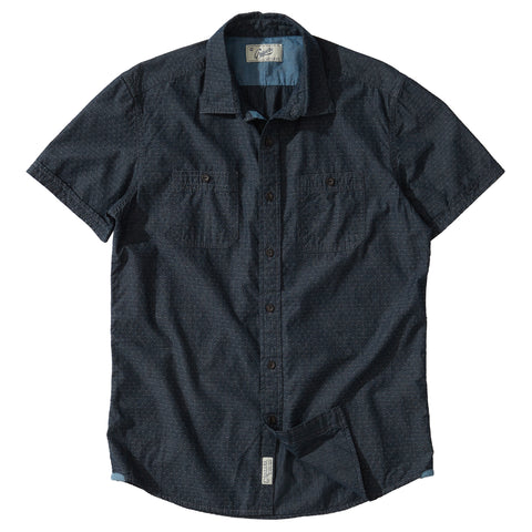 Montague Twill Terry Crew - Blue Heather