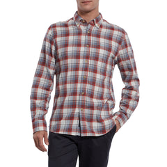 Redding Double Cloth - Red Cream Plaid-Grayers