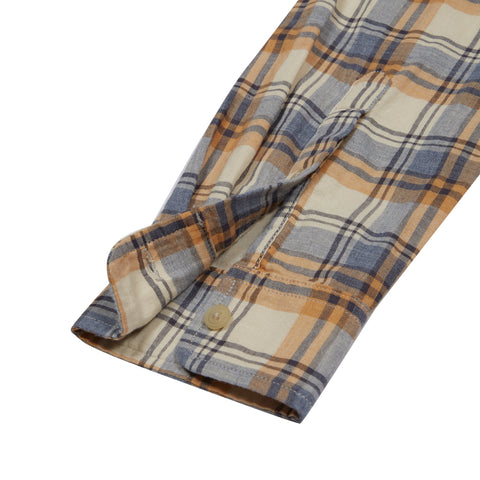 Redding Double Cloth - Yellow Cream Plaid