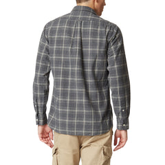 Brushed Oxford Shirt - Gray Heather Cream Plaid-Grayers