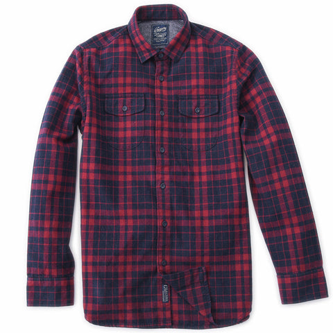 Hewitt Heritage Flannel - Navy Green Black