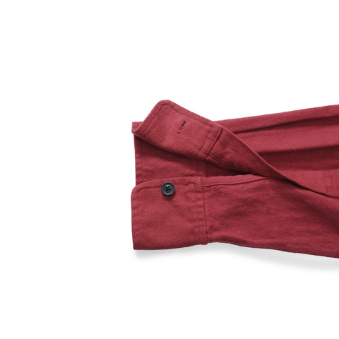 Lehigh Brushed Herringbone Flannel - Burnt Red-Grayers