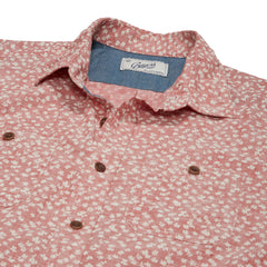 Drayton Printed Chambray Shirt - Cranberry Whisper-Grayers