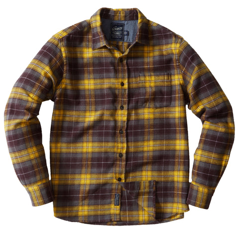 Durango Heritage Flannel - Gray Spruce Plaid