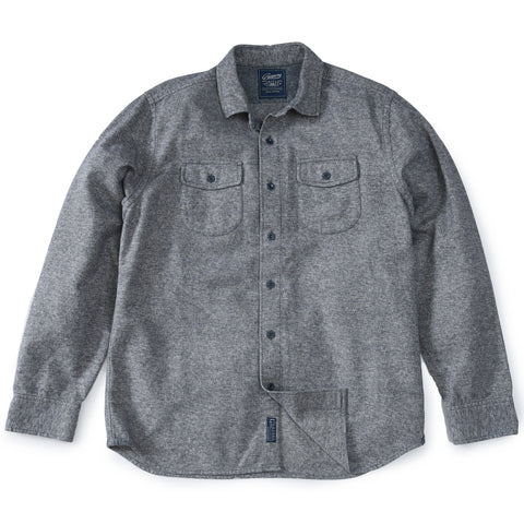 Nelson Jacquard Swacket - Charcoal Marl
